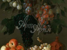 1491_75х55_Эспиноса, Хуан Баттиста де - Натюрморт с виноградом, яблоками и сливами