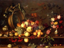 1492_50х36_Балтазар ван дер Аст- Натюрморт с фруктами