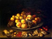 1493_50х38_Балтазар ван дер Аст- Тарелка с плодами и раковины