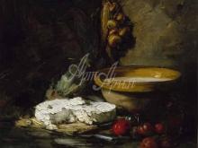 1496_90х85_Антуан Воллон - Натюрморт с сыром