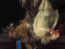 1497_100х80_Виллем ван Альст - Натюрморт с мертвой дичью
