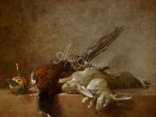 1500_90х75_Жан Симеон Шарден - Натюрморт с дичью