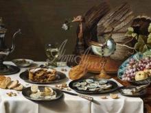 1504_120х67_Питер Клас - Натюрморт с пирогом из индейки