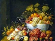 1508_50х41_Утрехт, Адриан ван - Натюрморт с виноградом