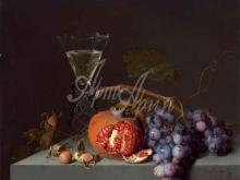 1513_80х69_Якоб ван Валскапелл - Натюрморт с фруктами