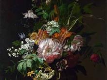 1856_100х75_Рашель Рюйш - Цветы в вазе