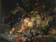1857_80х74_Якоб ван Валскапелл - Натюрморт с фруктами