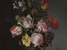 1865_90х67_Бальтазар ван дер Аст - Цветы в вазе с ракушками и насекомыми