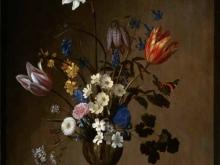 1866_80х65_Бальтазар ван дер Аст - Букет цветов и раковины