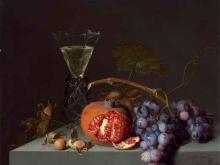1872_100х87_Якоб ван Валскапелл - Натюрморт с фруктами