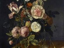 1873_80х62_Якоб ван Валскапелл - Натюрморт с цветами