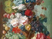 1875_100х79_Ян ван Ос - Фрукты и цветы в терракотовой вазе