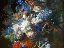1876_80х58_Ян ван Хейсум - Букет цветов в парке