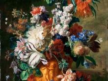 1877_100х74_Ян ван Хейсум - Букет цветов в урне