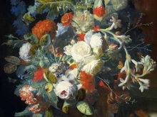 1878_80х59_Ян ван Хейсум - Букет цветов у колонны