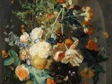 1879_110х84_Ян ван Хейсум - Ваза с цветами в нише