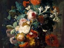 1880_80х60_Ян ван Хейсум - Ваза с цветами в парке