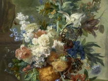 1884_80х61_Ян ван Хейсум - Натюрморт с цветами
