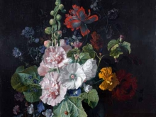 1888_90х76_Ян ван Хейсум - Штокрозы с другими цветами в вазе