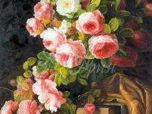 3230_40x30_Натюрморт - Цветы Розы