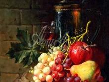 3420_65х50_А.Н.Антонов - Натюрморт с фруктами
