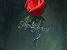 3426_65х54_А.Н.Антонов - Красная роза