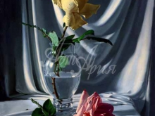 3433_70х54_А.Н.Антонов - Натюрморт с розами