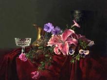 3445_80х64_А.Н.Антонов - Натюрморт с орхидеей