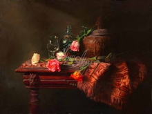 3453_85х64_А.Н.Антонов - Натюрморт с розами