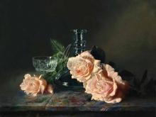 3459_90х75_А.Н.Антонов - Натюрморт с розами