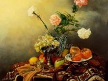 3461_90х81_А.Н.Антонов - Натюрморт с бабушкиным ковром