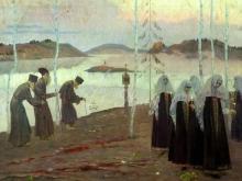 2504_60х48_М. В. Нестеров - Отцы-пустынники и жены непорочны