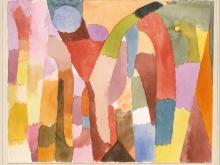 1975_80х63_Пауль Клее - Движение сводчатых палат