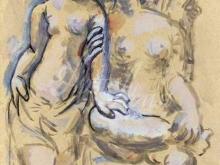 1156_40x30 П. Пикассо - Две женщины