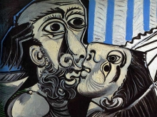 1160_70x52 П. Пикассо - Поцелуй