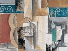 1697_80х66_П. Пикассо  - Гитара и скрипка (1912)