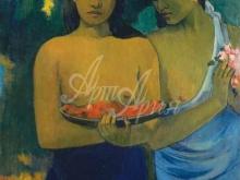 1356_90х69_Поль Гоген - Две таитянские женщины