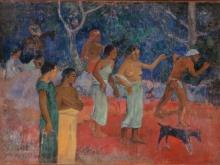 1907_120х86_Поль Гоген - Сцена из жизни таитян