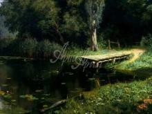 2395_61х38_В.Д.Поленов - Заросший пруд