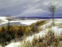 2397_80х43_В.Д.Поленов - Ранний снег