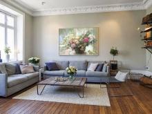 Художественное оформление интерьера дома. Картина — незаменимый атрибут современного интерьера.
