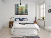 Художественное оформление интерьера спальни. Только натуральные материалы.