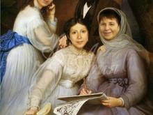 Портрет по фото. Делаем групповые семейные портреты.