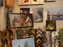 Репродукции картин и образцы багета