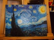"""Репродукция картины. Ван Гог """"Звездная ночь"""""""