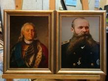 Репродукции картин. Адмиралы.