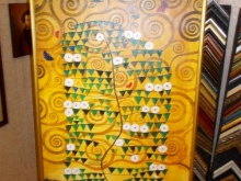 """Репродукция картины. Густав Климт """"Древо жизни"""""""