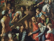 1218_80x57 Рафаэль - Христос на пути к Голгофе
