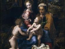 1221_80x62 Рафаэль - Святое семейство, или жемчужина