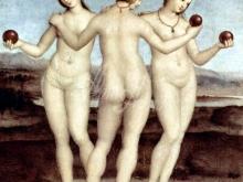 1662_40х39_Рафаэль - Три грации